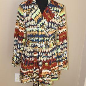 Vertigo Paris Lightweight Jacket Coat, Size XS
